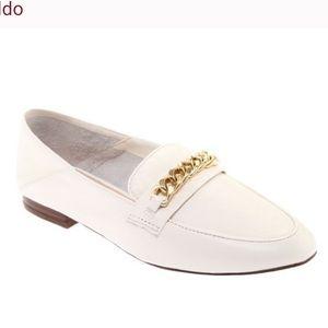 White Aldo Gemona Ballet Flat, 9